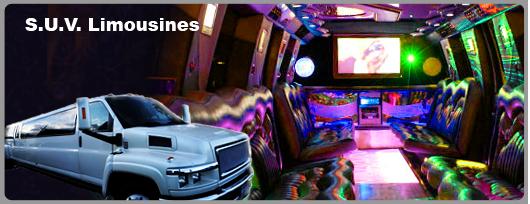 las Las Vegas SUV limousine for rent