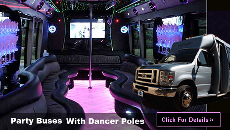 Las Vegas Party Bus transportation