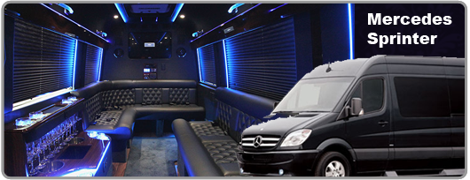 las Las Vegas Mercedes Sprinter for rent