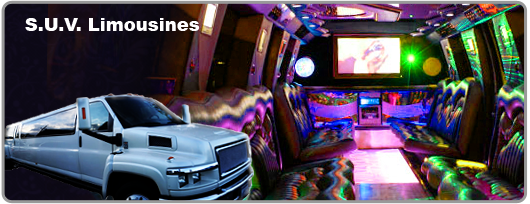 las Las Vegas SUV limousine for rent