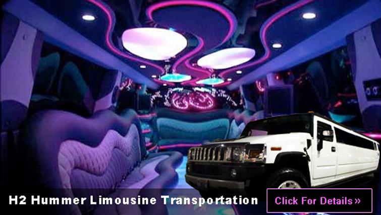 Las Vegas H2 Hummer Limo transportation