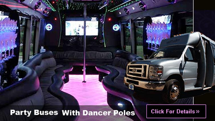 Las Vegas Party Bus transportation