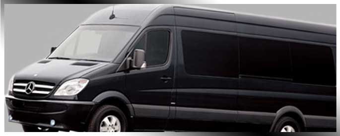Las Vegas Mercedes Sprinter Van